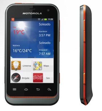 Motorola defy mini XT320 Telcel