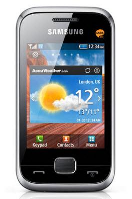 Samsung C3310 Telcel color plata