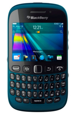 Blackberry curve 9220 color azul Telcel
