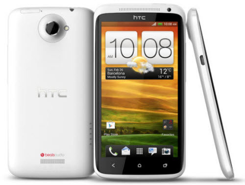HTC One X Iusacell color blanco