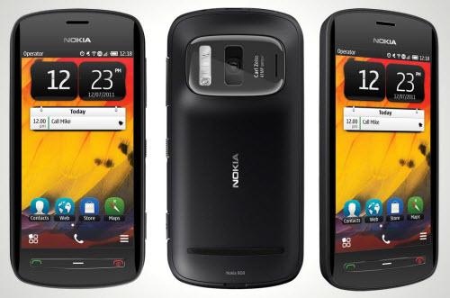 Nokia 808 Telcel color negro