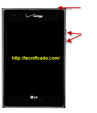 Hard reset LG intuition