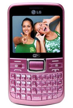 LG C205 telcel color rosa