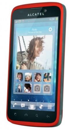 Alcatel OT995 Telcel color rojo
