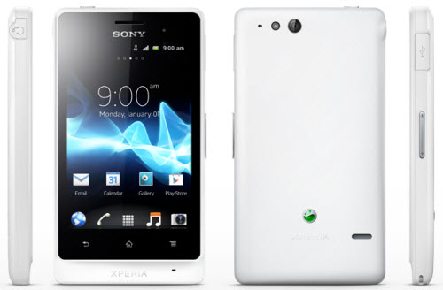 Xperia Go ST27 Telcel color blanco