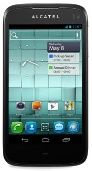 Alcatel one touch ultra 997 color negro