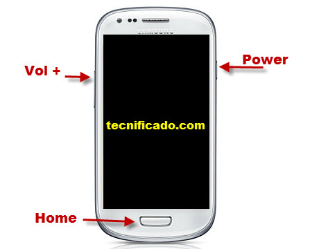 Hard reset Samsung i8190  Galaxy SIII mini