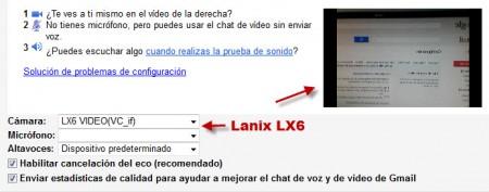 Lanix LX6 Gtalk