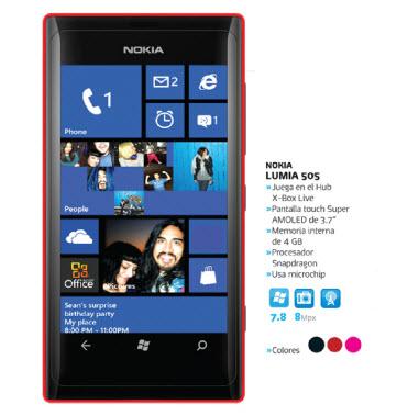 Nokia Lumia 505 Telcel