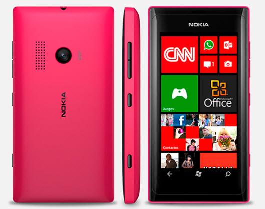 Nokia N505 Telcel color rosa