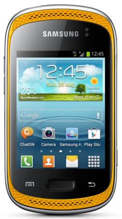 Samsung S6010 color amarillo