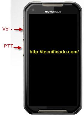 Hard reset Motorola Ironrock