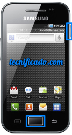 hard reset Samsung S5830 Galaxy ACE
