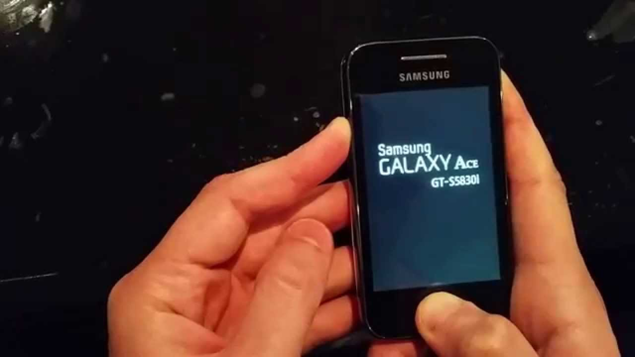 Como hacer Hard Reset Samsung Galaxy Ace GT-S5830l